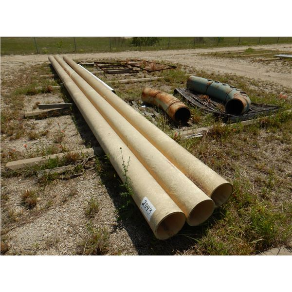 """12"""" ANGLED PIPE/ 40' x 12' PIPE"""