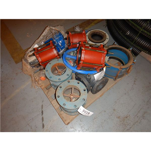 VALVES, COUPLERS, FITTINGS