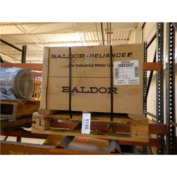 BALDOR 2333T SUPER-E ELECTRIC MOTOR