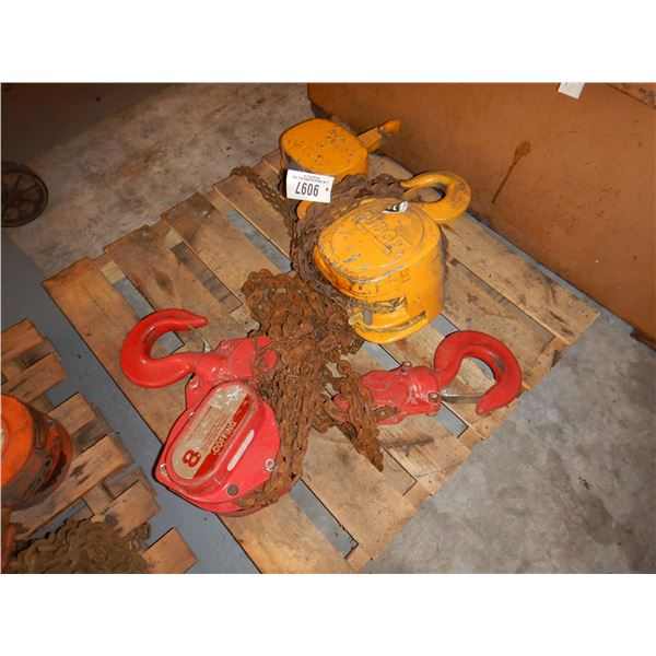 COFFING BUDGIT 8 TON CHAIN FALL Miscellaneous