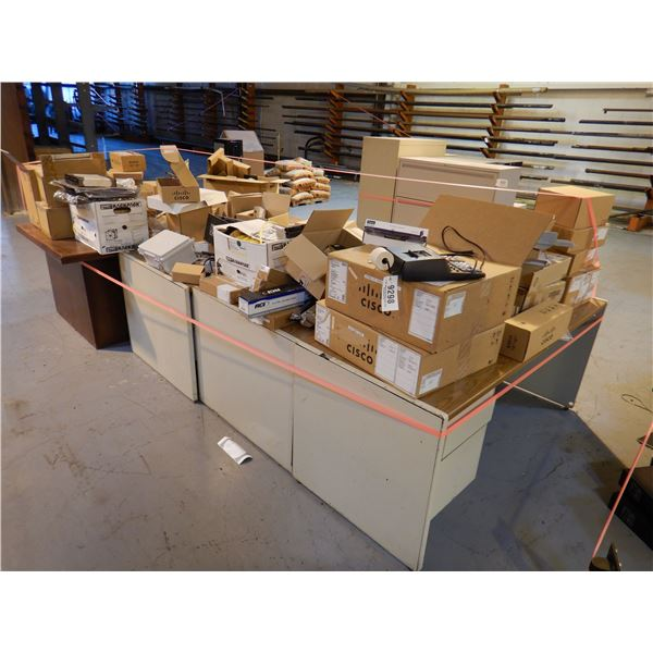 DESK/ ELECTRICAL COMPONENTS