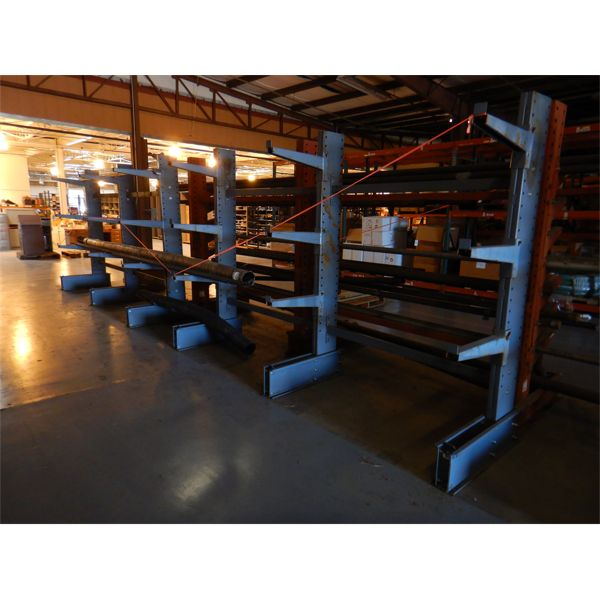 (2) PIPE RACK W/ MISC PIPE