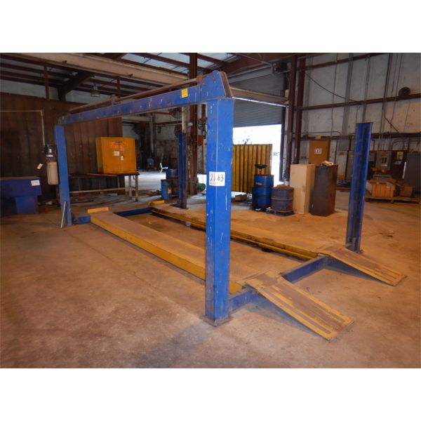 BEN PEARSON TUBEMASTER CORP. 12000-4 MR AUTO LIFT Shop Equipment