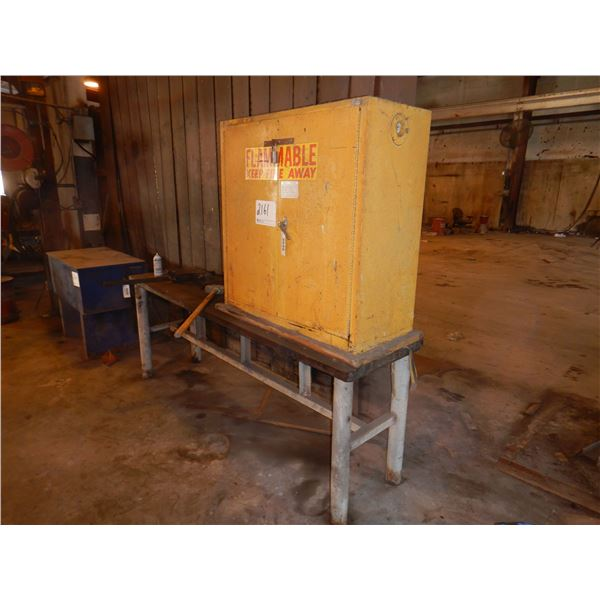 EAGLE 1932 FLAMMABLE CABINET