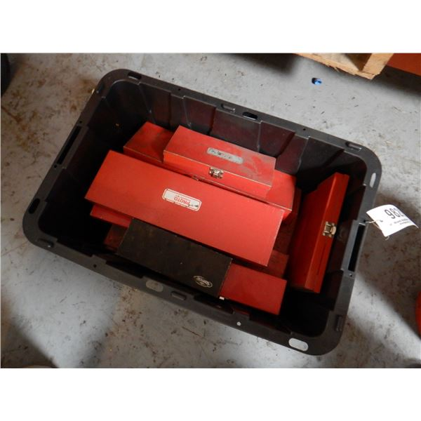 SOCKETS, EXTENSIONS, METAL TOOLBOXES