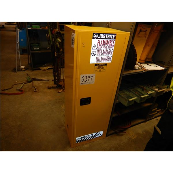 JUSTRITE FLAMMABLE STORAGE CABINET Miscellaneous