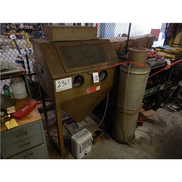 TRINCO 361BP2 DRY BLASTER Shop Equipment