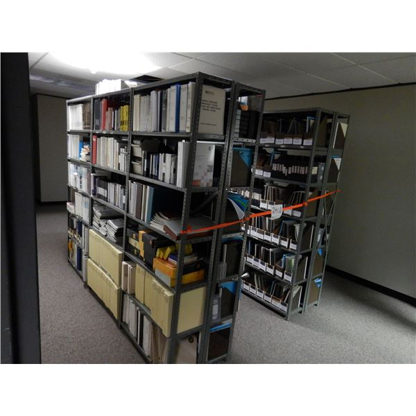 SHELVING W/ CONTENTS