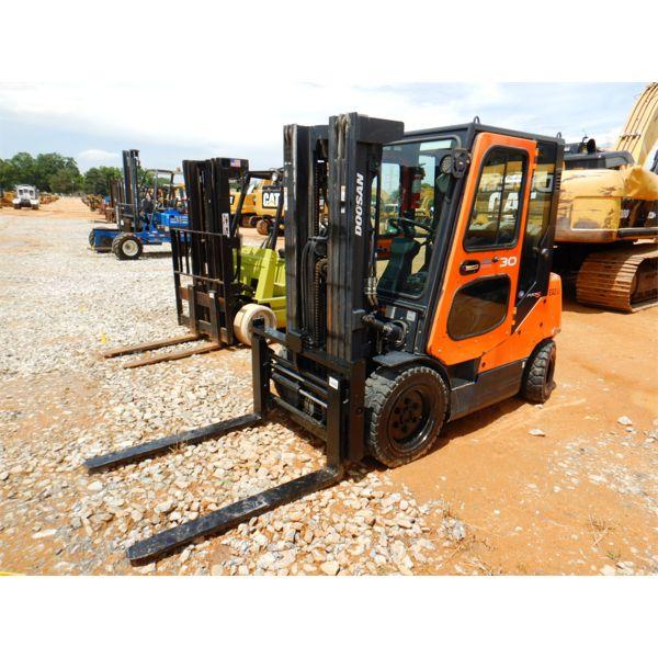 DOOSAN G30P-5 Forklift - Mast