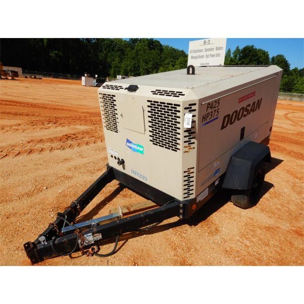 2014 DOOSAN P425 Air Compressor