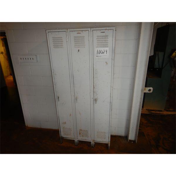 3 DOOR LOCKERS, Selling Offsite: Located in Birmingham, AL