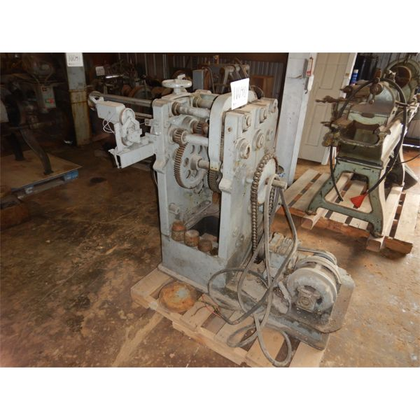 WIRE FEEDER/ FORMING MACHINE, Selling Offsite: Located in Birmingham, AL