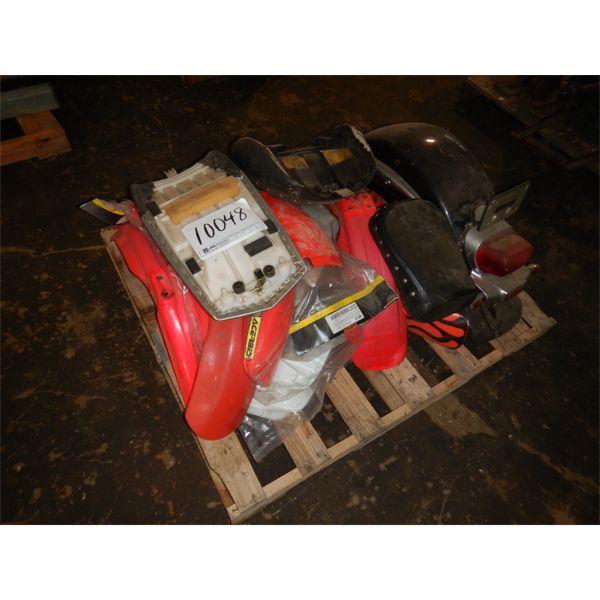 MOTORCYCLE FENDERS/ SEATS, Selling Offsite: Located in Birmingham, AL