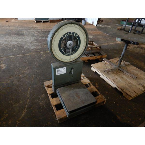 TOLEDO HONEST WEIGHT SCALE Shop Equipment