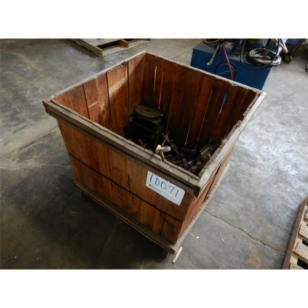 PARTS FOR WIRE FORMING MACHINE, Selling Offsite: Located in Birmingham, AL