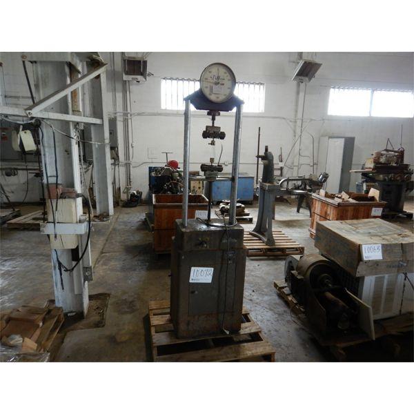DILLON LW DYNAMOMETER HYDRAULIC PRESS Shop Equipment