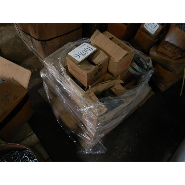 MISC WIRE W/ CRIMPS, WIDE CROWN STAPLES, Selling Offsite: Located in Birmingham, AL
