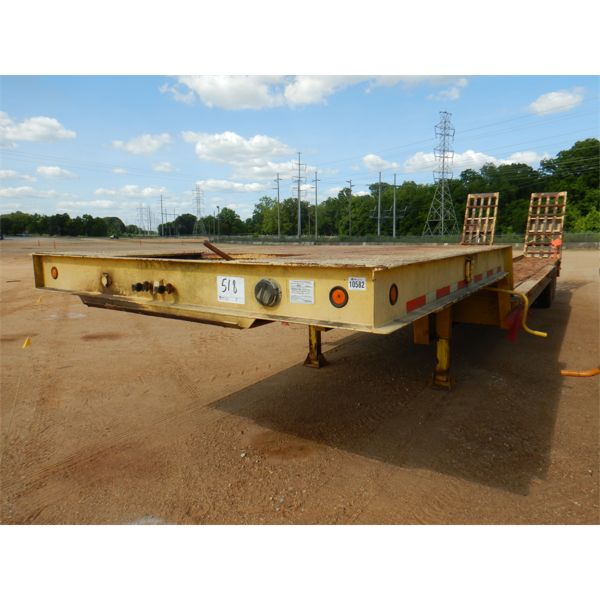 2000 ALABAMA MTS35AB Lowboy Trailer