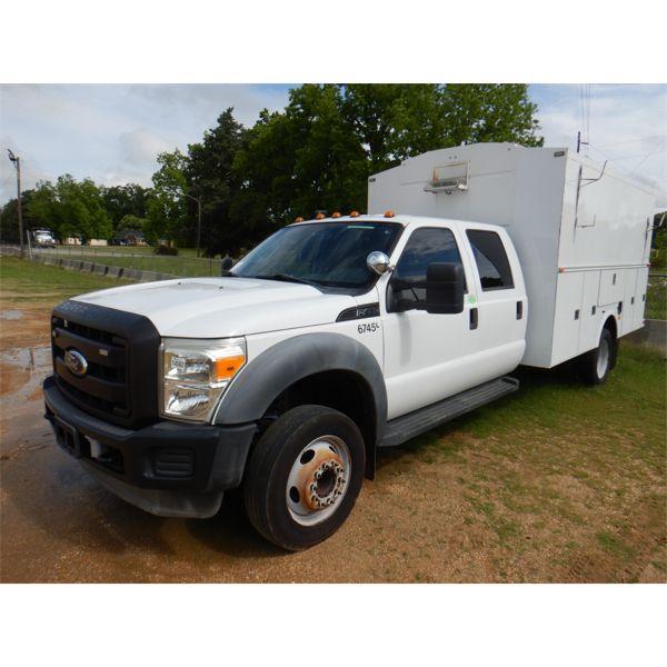 2011 FORD F450 XL Service / Mechanic Truck