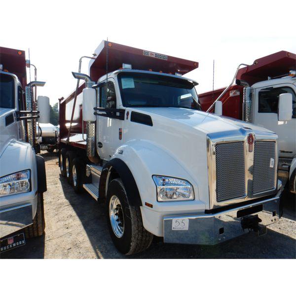 2021 KENWORTH T880 Dump Truck