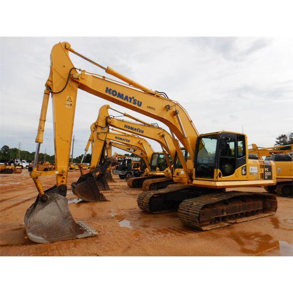 2012 KOMATSU PC200LC-8 Excavator