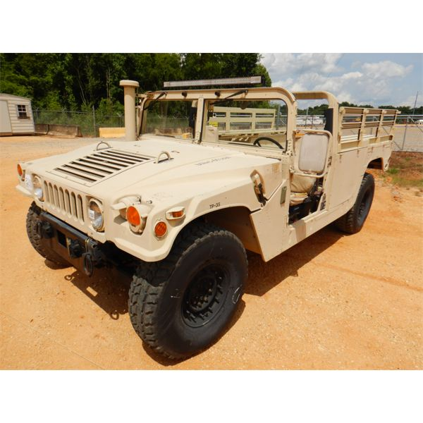 2001 AM GENERAL M1123 HUMVEE SUV