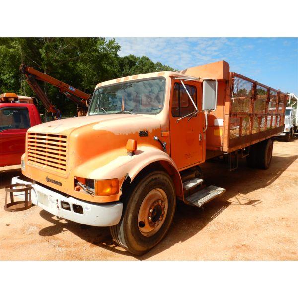 1997 INTERNATIONAL 4700 Flatbed Dump Truck