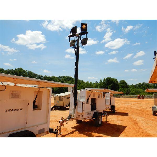 2010 PROGRESS SOLAR SOLUTIONS SLT600 SOLAR Light Tower