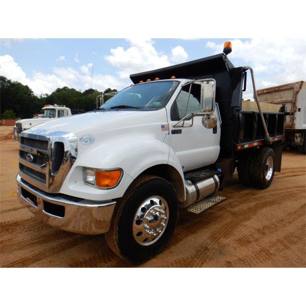 2012 FORD F750 Dump Truck