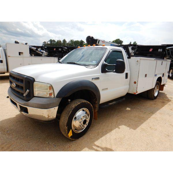 2006 FORD F550 XL Service / Mechanic Truck
