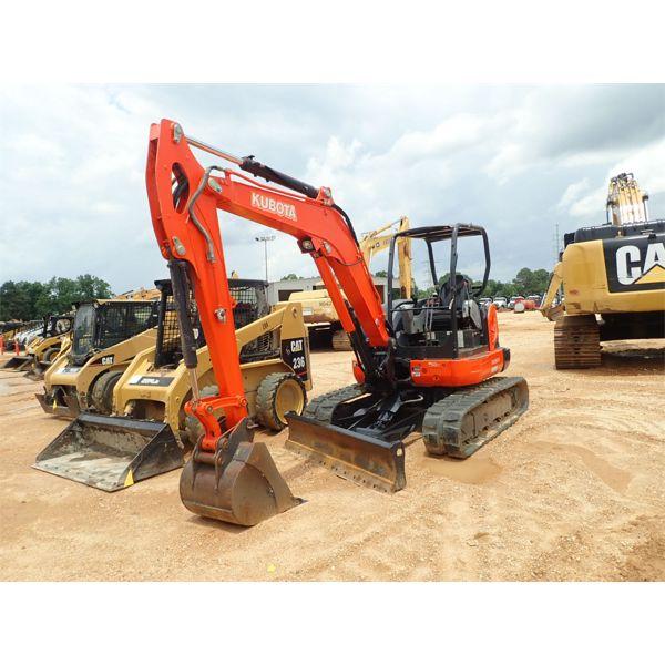 2016 KUBOTA KX057-4 Excavator - Mini