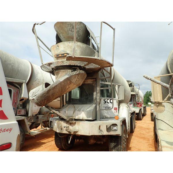 1992 ADVANCE  Concrete Mixer / Pump Truck