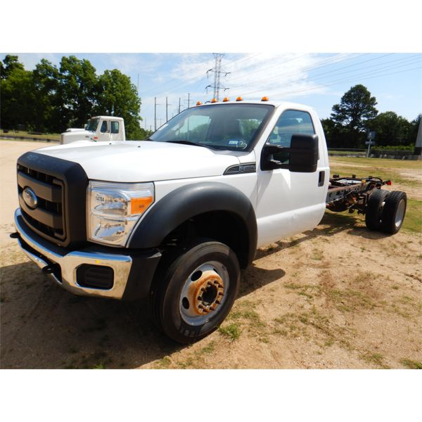 2013 FORD XL F550 Cab and Chassis Truck