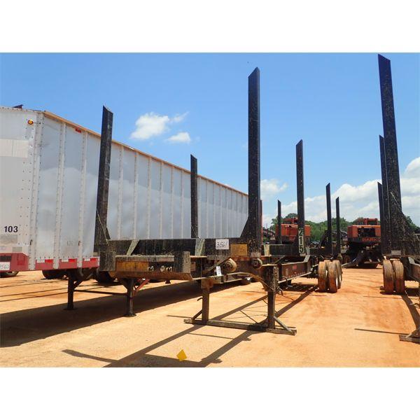 2020 PITTS LT40-8L Log Trailer