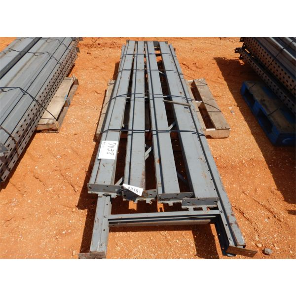 (1) PALLET SHELVING W/SUPPORT POST (B9)