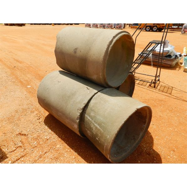 """(4) SECTION 24"""" CONCRETE PIPE (B9)"""