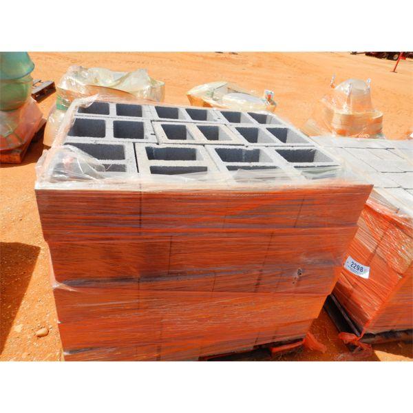 (1) PALLET CONCRETE BLOCKS (B9)