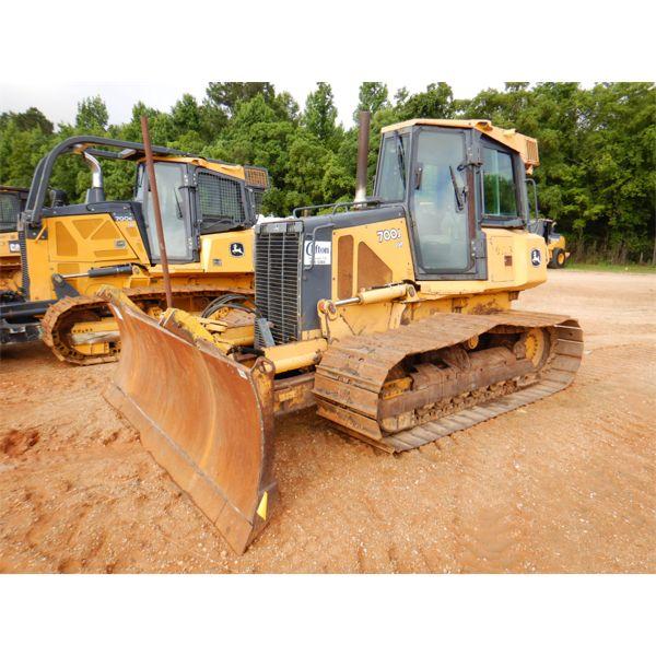 2007 JOHN DEERE 700J LGP Dozer / Crawler Tractor