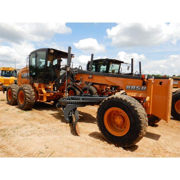 2012 CASE 885B VHP Motor Grader