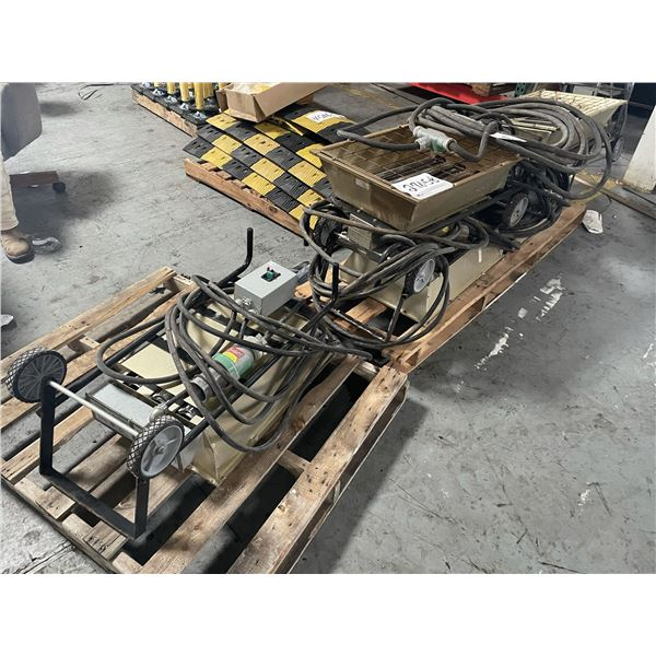 (5) ELECTRIC SHOP HEATERS