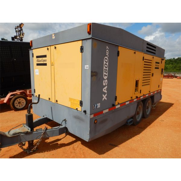 2016 ATLAS COPCO XAS1800JD7 Air Compressor