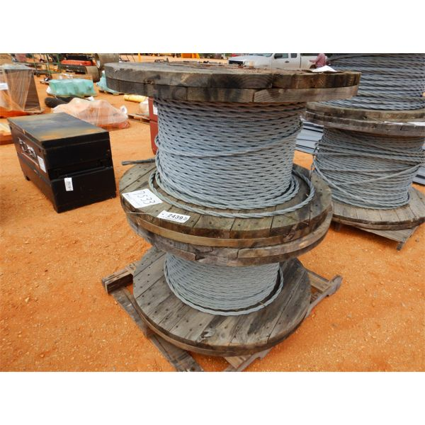 (2) REEL OF GALV GUARDRAIL CABLE (B9)