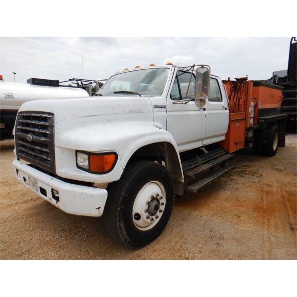 1998 FORD F-SERIES POT HOLE PATCHER Asphalt Distributor Truck