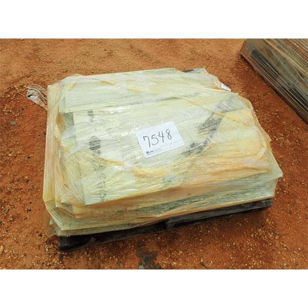 (1) PALLET METAL PANELS (B-9)