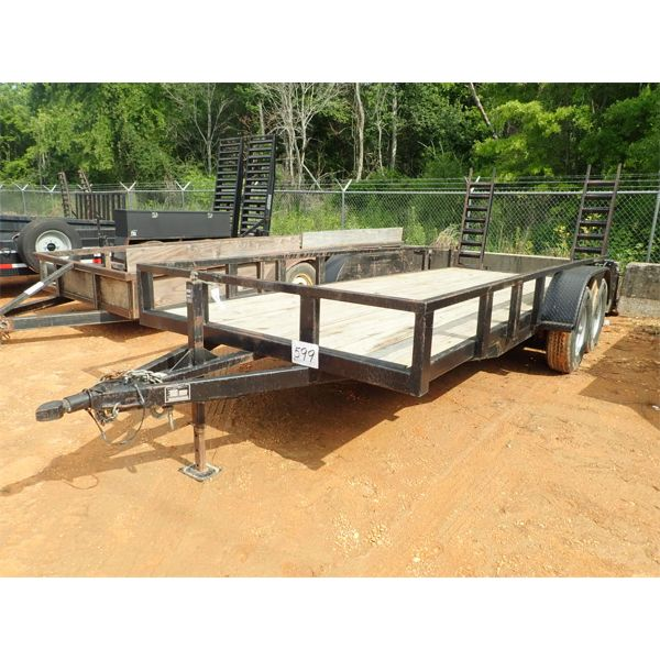 2013 BLACK BROTHERS  Utility Trailer