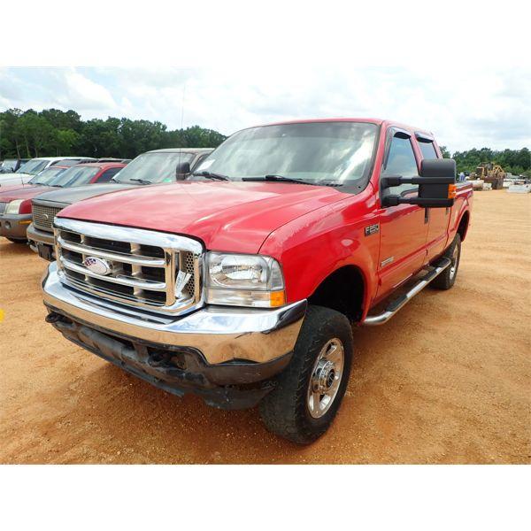 2003 FORD F250 XLT FX4 Pickup Truck