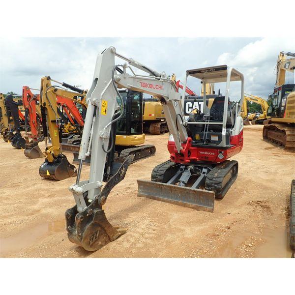 2019 TAKEUCHI TB230 Excavator - Mini