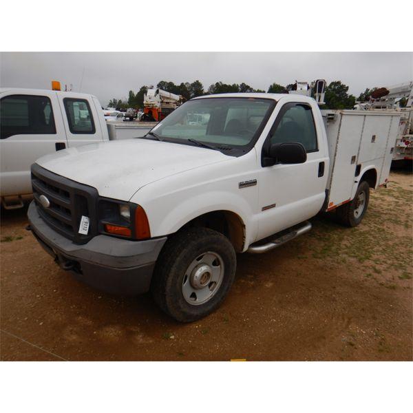 2005 FORD F250 XL Service / Mechanic Truck