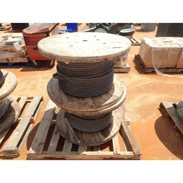 STEEL CABLE, 2 SPOOL