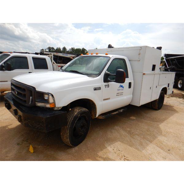 2004 FORD F550 XL Service / Mechanic Truck